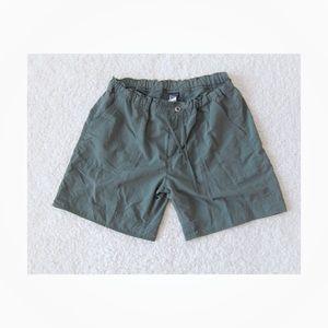 Patagonia Olive Green Drawstring Shorts Size 10
